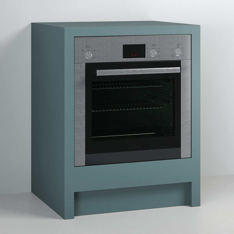 Built Under Single Oven Cabinet Shaker Style