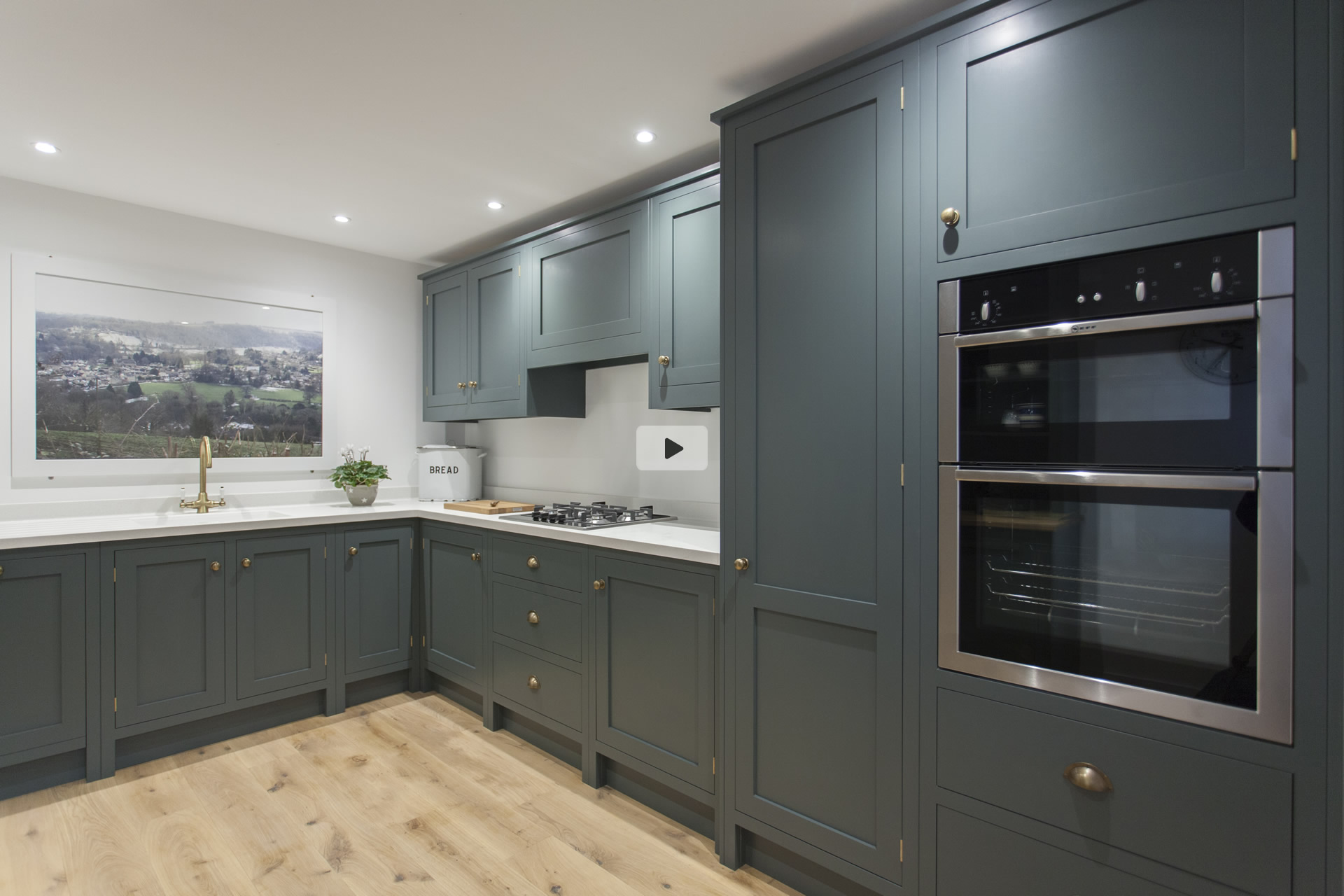 Shaker Style Kitchens By Woodchester Cabinet Makers